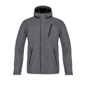 LOMBARD men's softshell jacket gray vyobraziť