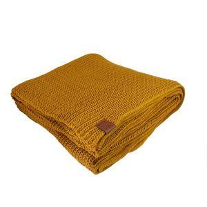 Kabak Unisex's Blanket Mustard-2012km vyobraziť