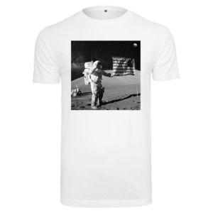 Pánske tričko MR.TEE NASA Moon Landing Tee Farba: white, Veľkosť: S vyobraziť