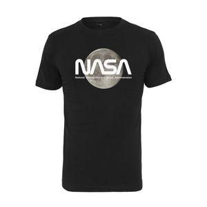 Pánske tričko MR.TEE NASA Moon Tee Farba: black, Veľkosť: L vyobraziť