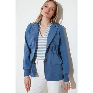 Trendyol Indigo Pocket Jacket vyobraziť