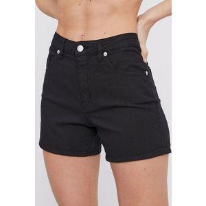 Love Moschino - Rifľové krátke nohavice vyobraziť