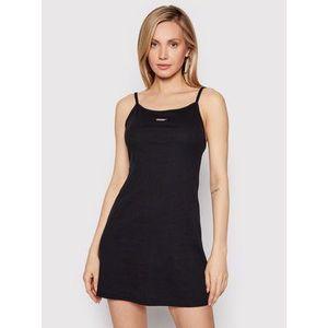 Vans Letné šaty Together Foreve VN0A53RC Čierna Slim Fit vyobraziť