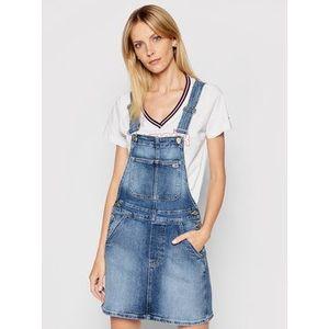 Tommy Jeans Džínsové šaty Classic DW0DW10111 Modrá Regular Fit vyobraziť