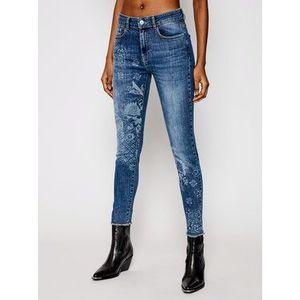 Slim Fit džínsy Desigual vyobraziť