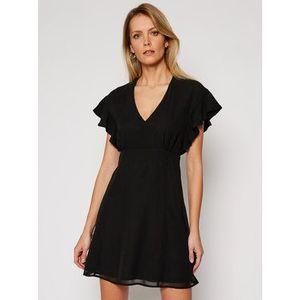 Guess Letné šaty Ayar W1RK0B W70Q0 Čierna Regular Fit vyobraziť