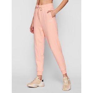 Puma Teplákové nohavice Modern Basics 585937 Ružová Regular Fit vyobraziť