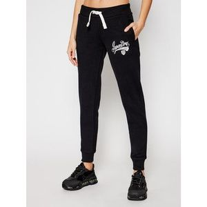 Superdry Teplákové nohavice Collegiate Scripted W7010437A Čierna Slim Fit vyobraziť