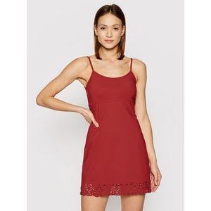Banana Moon Plážové šaty Alzette Huawei X2373 Červená Regular Fit vyobraziť