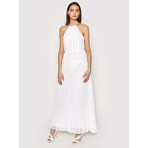 MICHAEL Michael Kors Večerné šaty MS1806K1D0 Biela Regular Fit vyobraziť