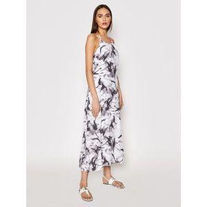 Calvin Klein Jeans Letné šaty J20J215690 Sivá Regular Fit vyobraziť