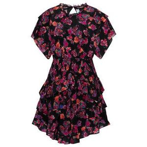 IRO Letné šaty Lakie A0552 Čierna Regular Fit vyobraziť