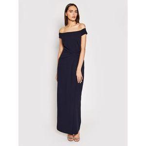 Lauren Ralph Lauren Večerné šaty Long Gown 253770013002 Tmavomodrá Regular Fit vyobraziť