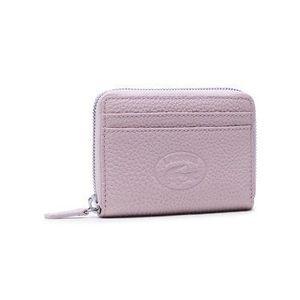 Lacoste Malá dámska peňaženka Xs Zip Coin Wallet NF3406NL Ružová vyobraziť