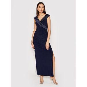 Lauren Ralph Lauren Večerné šaty Long Gown 253767936003 Tmavomodrá Regular Fit vyobraziť