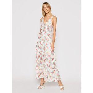 Pepe Jeans Letné šaty Fionas PL952831 Biela Regular Fit vyobraziť