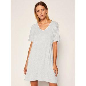 DKNY Nočná košeľa YI2319330 Sivá Regular Fit vyobraziť