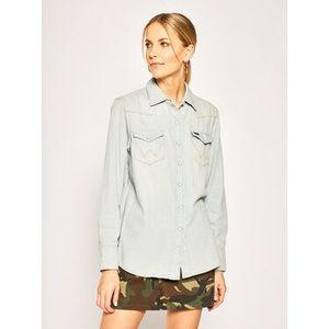 Wrangler džínsová košeľa Rhapsody W5WSLW13I Modrá Regular Fit vyobraziť