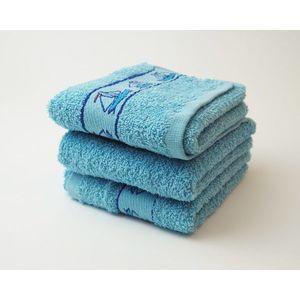 Dobrý Textil Detský uterák s motívom 30x50 - Modrá | 30 x 50 cm vyobraziť