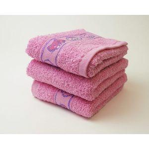 Dobrý Textil Detský uterák s motívom 30x50 - Růžová | 30 x 50 cm vyobraziť