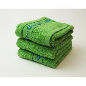 Dobrý Textil Detský uterák s motívom 30x50 - Zelená | 30 x 50 cm vyobraziť
