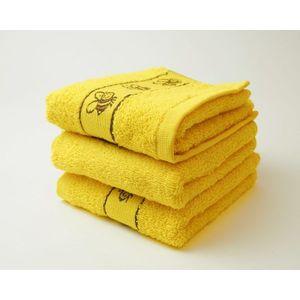 Dobrý Textil Detský uterák s motívom 30x50 - Žlutá | 30 x 50 cm vyobraziť