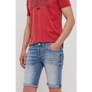 Guess - Krátke rifľové nohavice vyobraziť