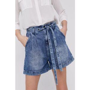 Patrizia Pepe - Rifľové krátke nohavice vyobraziť