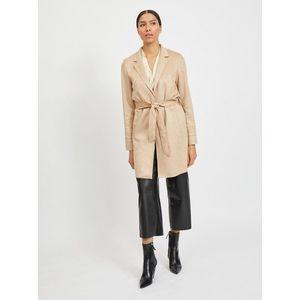 Béžový ľahký kabát VILA vyobraziť