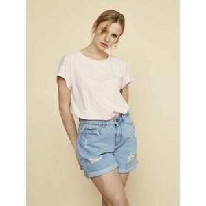 Svetloružové dámske dlhé tričko ZOOT Leah vyobraziť