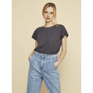 Šedé dámske dlhé tričko ZOOT Leah vyobraziť