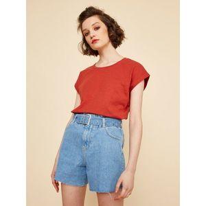 Červené dámske dlhé tričko ZOOT June vyobraziť