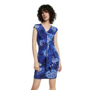 Desigual modré šaty Vest Sibila vyobraziť