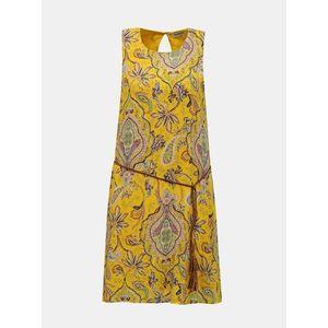 Desigual žlté šaty Vest Adriana vyobraziť
