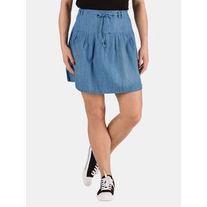 Modrá dámska rifľová sukňa SAM 73 vyobraziť