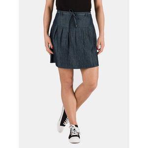 Tmavomodrá dámska rifľová sukňa SAM 73 vyobraziť