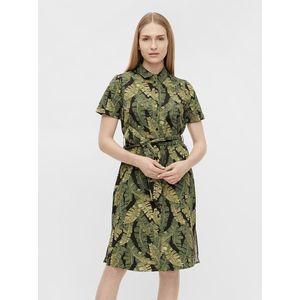Zelené vzorované košeľové šaty .OBJECT Fana vyobraziť
