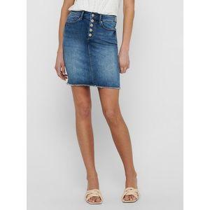 Modrá púzdrová rifľová sukňa ONLY Blush vyobraziť