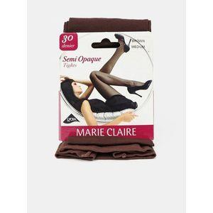 Pančuchy a pančucháče pre ženy Marie Claire - hnedá vyobraziť