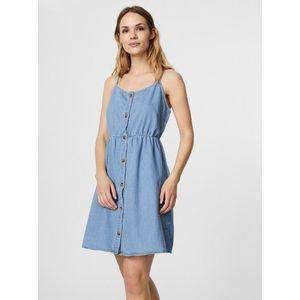 Svetlomodré rifľové šaty s gombíkami VERO MODA Flicka vyobraziť