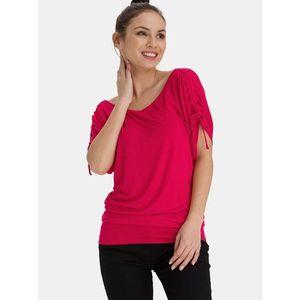 Ružové dámske dlhé tričko SAM 73 vyobraziť