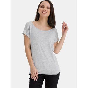 Šedé dámske dlhé tričko SAM 73 vyobraziť