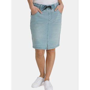 Svetlomodrá dámska púzdrová rifľová sukňa SAM 73 vyobraziť