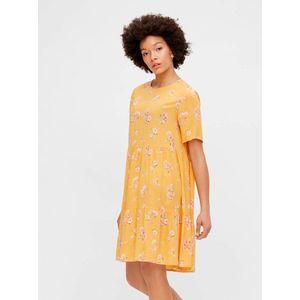 Letné a plážové šaty pre ženy Pieces - žltá vyobraziť