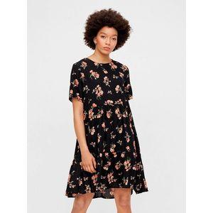 Letné a plážové šaty pre ženy Pieces - čierna vyobraziť