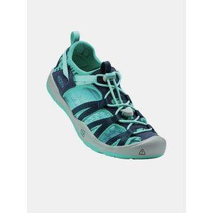 Modré detské sandále vyobraziť