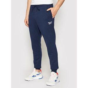 Reebok Teplákové nohavice Identity GL3163 Tmavomodrá Regular Fit vyobraziť