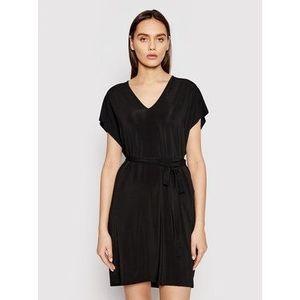 Max Mara Letné šaty Pavento 36210518 Čierna Regular Fit vyobraziť