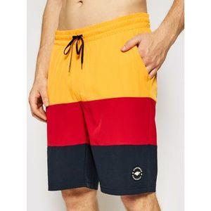 4F Plážové šortky SKMT004 Tmavomodrá Regular Fit vyobraziť