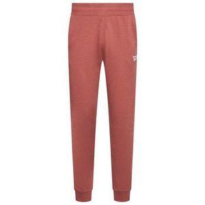 Reebok Teplákové nohavice French Terry GJ4968 Ružová Regular Fit vyobraziť